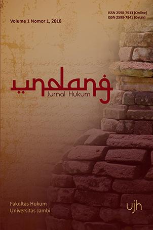cover Undang Jurnal Hukum
