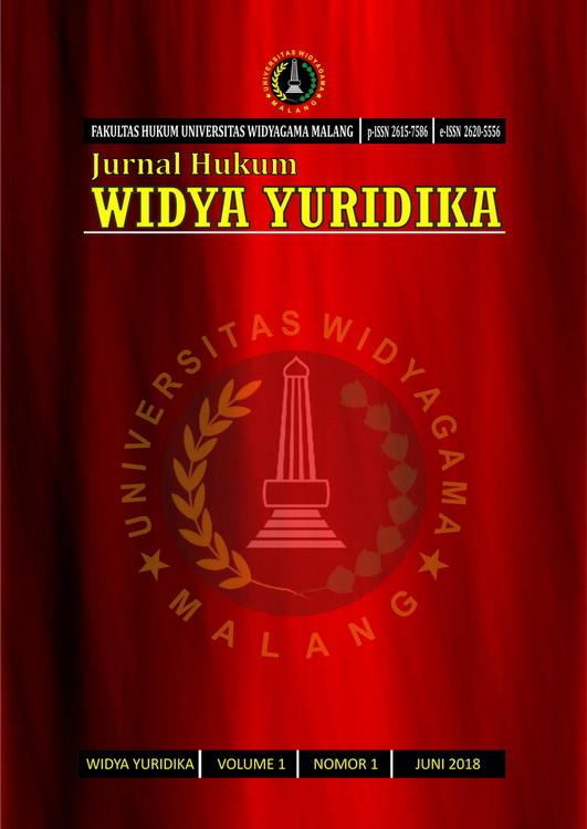 cover Widya Yuridika