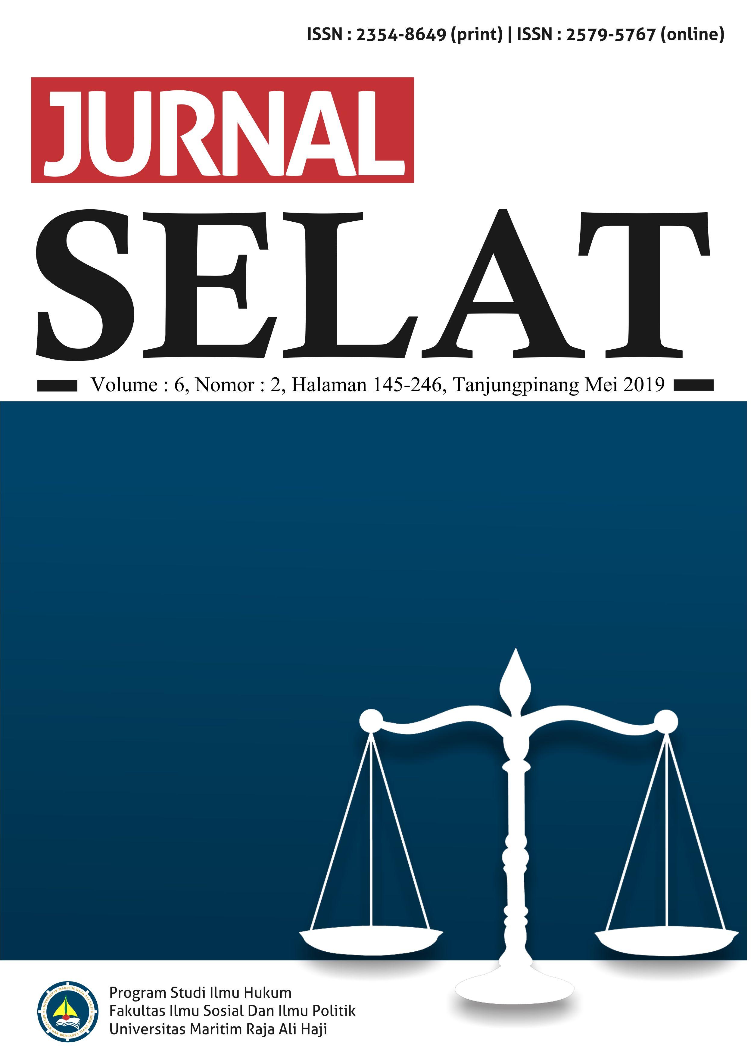 cover Jurnal Selat